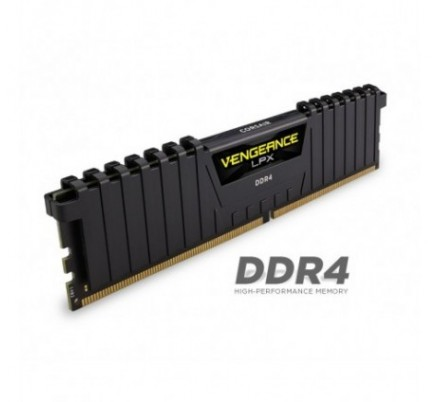 DDR4 16 GB(2X8KIT) 2400 VENGEANCE LPX BLACK CORSAIR