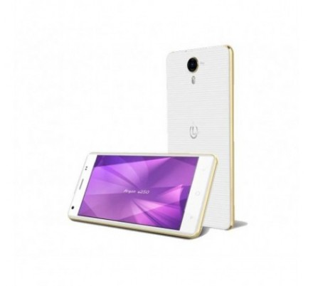 SMARTPHONE ARGON E250 5'' IPS GOLD WHITE LEOTEC