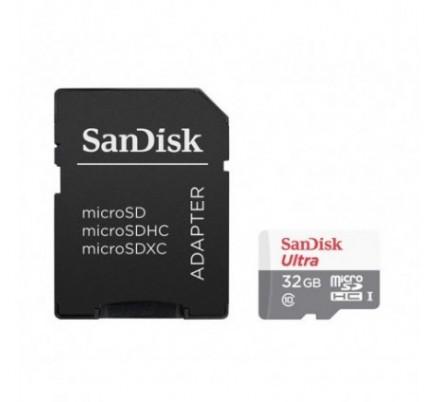 MICRO SD 32 GB 1 ADAP. CLASS 10 SANDISK