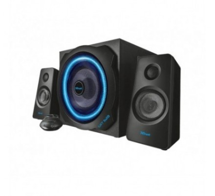 ALTAVOCES GXT628 2.1 ILLUMINATED PC/PS3/XBOX BLACK TRUST