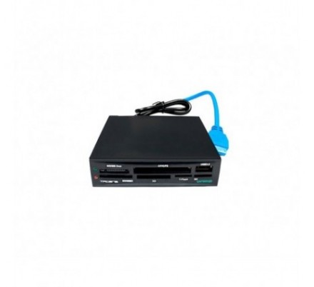 MULTILECTOR INTERNO ANIMA USB2.0 + USB 3.0 BLACK TACENS