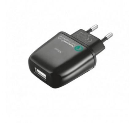CARGADOR USB DE PARED ULTRA RAPIDO SMARTPHONE/TABLETS URBAN REVOLT
