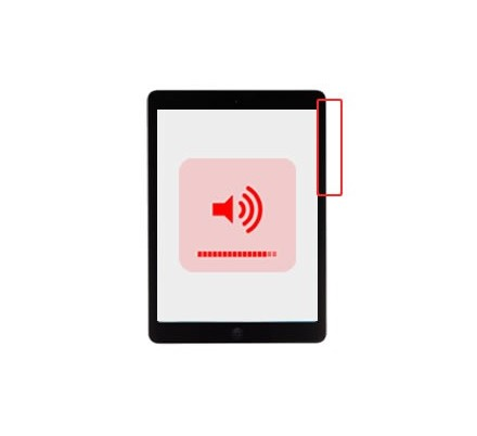 Cambio Control Volumen Ipad Air