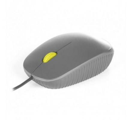 MOUSE NOTEBOOK OPTICO FLAME GREY NGS