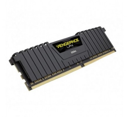 DDR4 16 GB(2X8KIT) 3000 VENGEANCE LPX BLACK CORSAIR