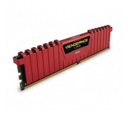 DDR4 16 GB(2X8KIT) 2400 VENGEANCE LPX RED CORSAIR