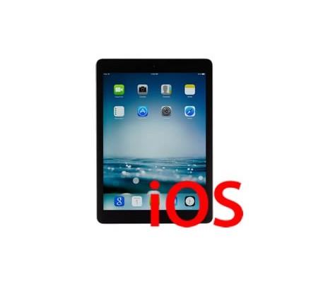 Recuperación Software Ipad Air