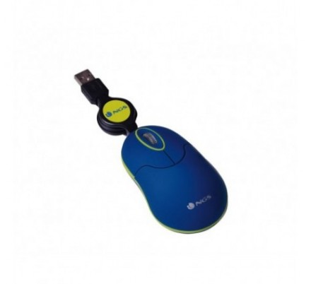 MOUSE NOTEBOOK OPTICO RETRACTIL SIN BLUE NGS