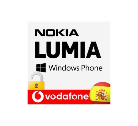 Liberar Nokia Lumia Vodafone