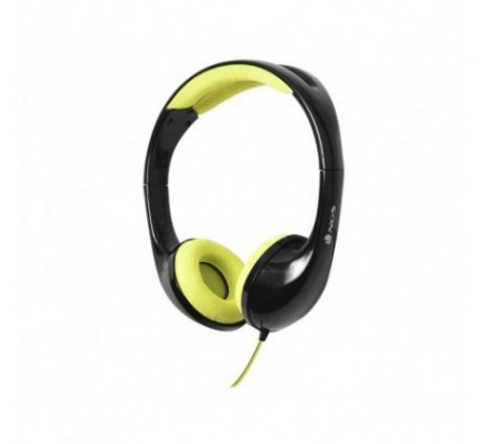 AURICULARES STEREO SPEEDY BLACK/YELLOW NGS