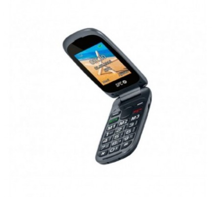 SPC TELEFONO MOVIL HARMONY SENIOR BLACK