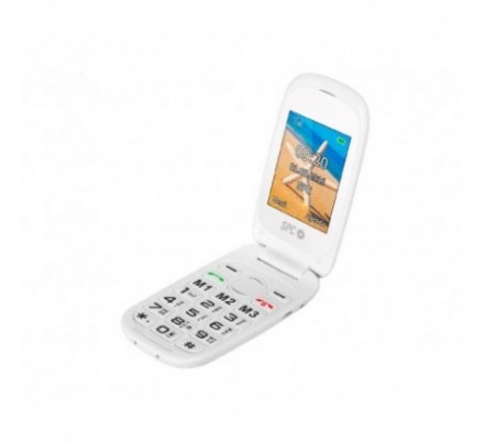 SPC TELEFONO MOVIL HARMONY SENIOR WHITE