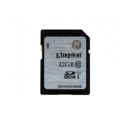 SECURE DIGITAL HC 32 GB CLASE10 KINGSTON