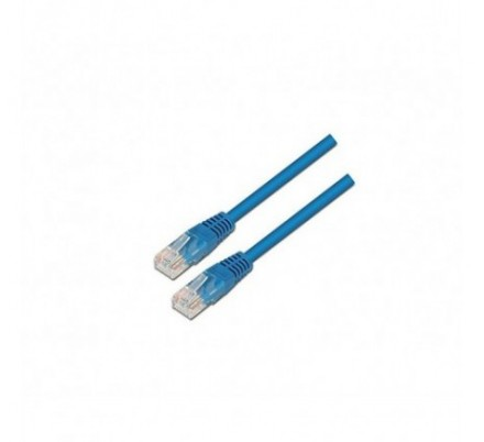 CABLE DE RED UTP CAT6 TIPO 1 M AZUL