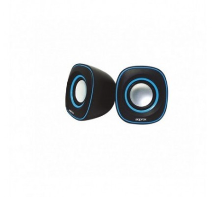 MINI ALTAVOCES 2.0 SPX2 BLACK/BLUE APPROX