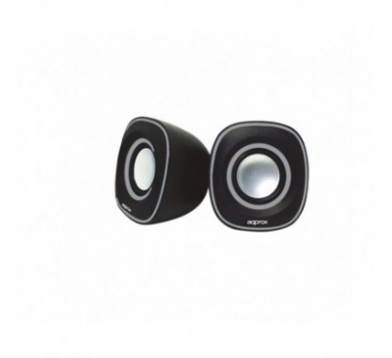 MINI ALTAVOCES 2.0 SPX2 BLACK/GREY APPROX