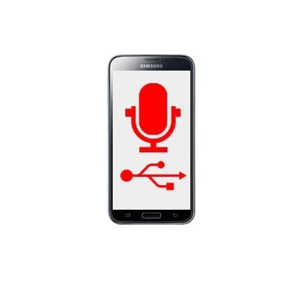 Cambio Conector Carga y Micrófono Samsung Galaxy S5