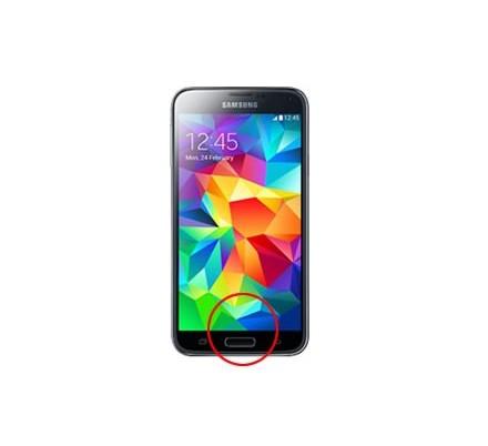 Cambio Botón Home Samsung Galaxy S5