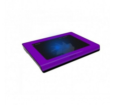 LAPTOP COOLER PAD PURPLE 15.6'' 2 LEDS APPROX
