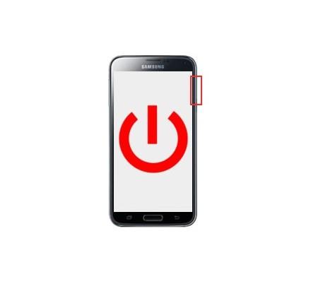 Cambio Botón Encendido Samsung Galaxy S5