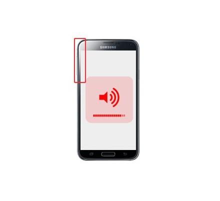 Cambio Control Volumen Samsung Galaxy S5