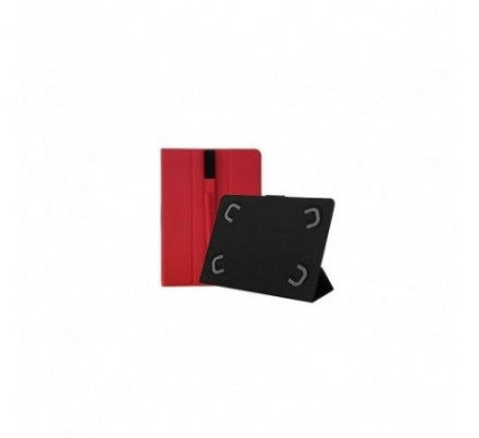 FUNDA UNIVERSAL TABLET 10.1'' RED LEOTEC