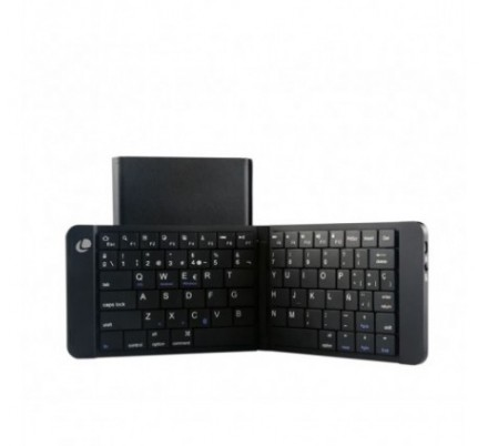 MINI TECLADO BLUETOOTH PLEGABLE BLACK LEOTEC
