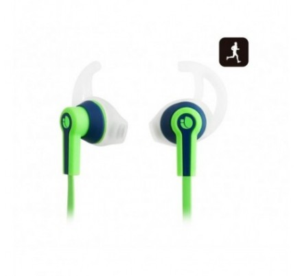 AURICULARES SPORT RACER GREEN NGS