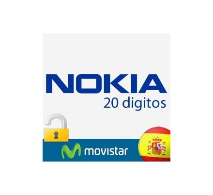 Liberar Nokia Movistar (20 Digitos)