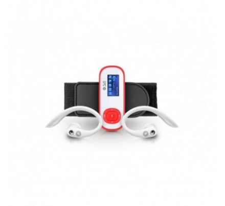 SPC REPRODUCTOR MP3 SPORT CLIP PEDOMETER 8 GB CORAL