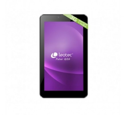 TABLET PULSAR QI 7'' IPS 3G 8 GB DUALBAND BLACK LEOTEC