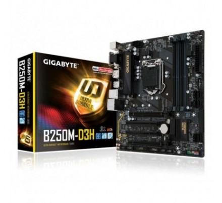 PLACA BASE B250M-D3H GIGABYTE