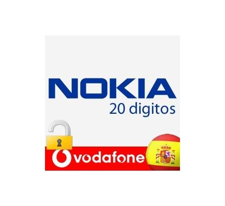 Liberar Nokia Vodafone (20 Digitos)