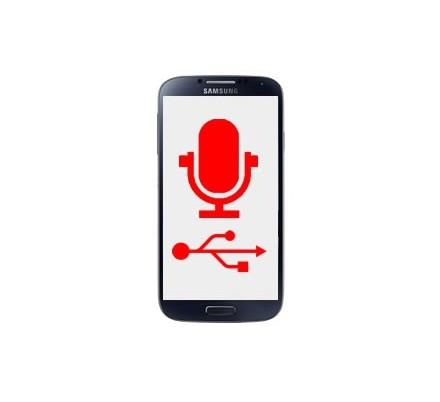 Cambio Conector Carga y Micrófono Samsung Galaxy S4 Mini