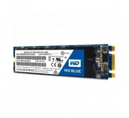 500 GB SSD SERIE M.2 2280 SATA 6 BLUE WD