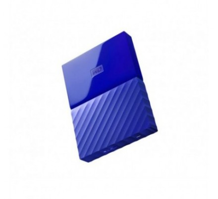 HDD EXTERNO WD 2.5 1 TB 3.0 MY PASSPORT WORLDWIDE BLUE