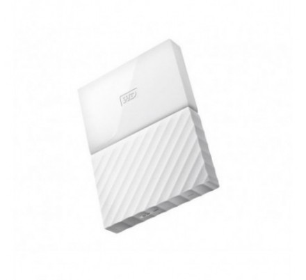 HDD EXTERNO WD 2.5 2 TB 3.0 MY PASSPORT WORLDWIDE WHITE