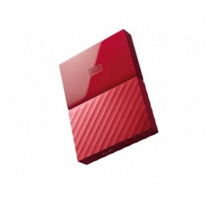 HDD EXTERNO WD 2.5 3 TB 3.0 MY PASSPORT WORLDWIDE RED