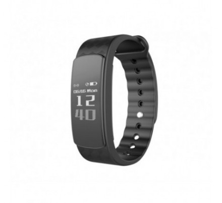 PULSERA FITNESS MULTISPORTS HR BLACK LEOTEC
