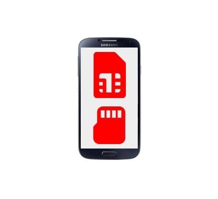 Cambio Lector Tarjeta Sim y MicroSD Samsung Galaxy S4 Mini