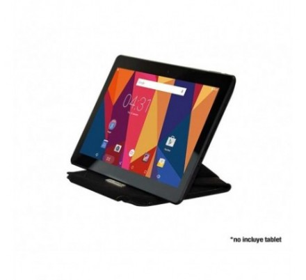 FUNDA TABLET HANNSPAD 13.3'' BLACK CUERO HANNSPREE