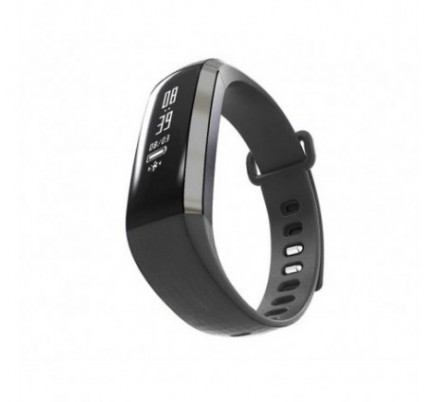 PULSERA FITNESS HEALTH BLACK LEOTEC