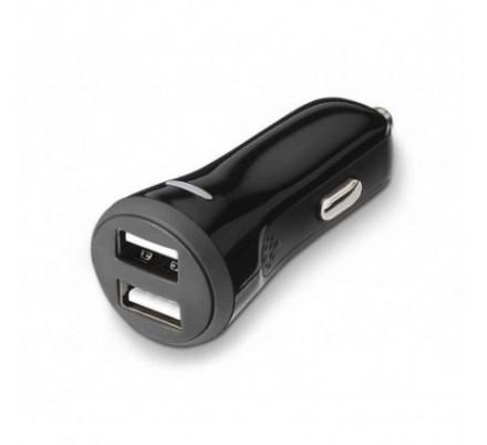 CARGADOR USB COCHE DUAL (2A) TOOQ