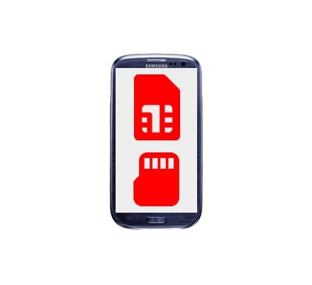 Cambio Lector Tarjeta Sim y MicroSD Samsung Galaxy S3