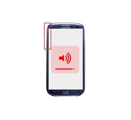 Cambio Control Volumen Samsung Galaxy S3