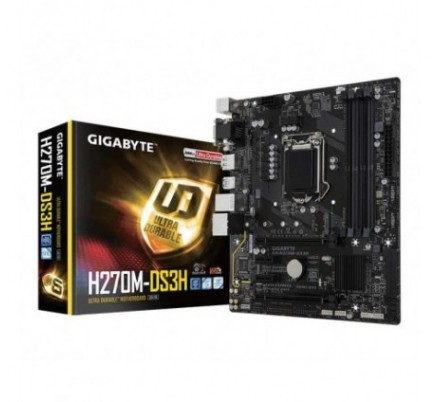 PLACA BASE H270M-DS3H GIGABYTE
