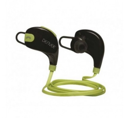 AURICULARES BLUETOOTH SPORT BTE-100 GREEN DENVER