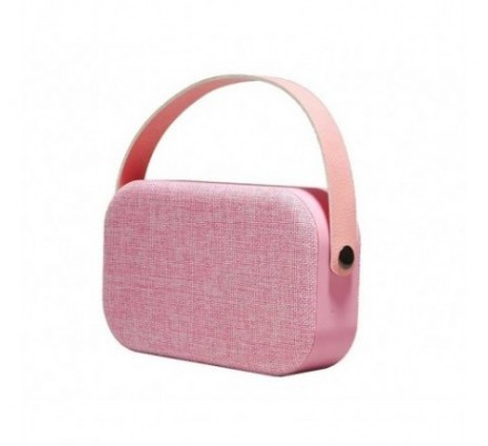 ALTAVOZ BLUETOOTH 4.1 BTS-63 PINK DENVER