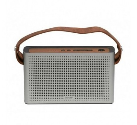 ALTAVOZ BLUETOOTH RETRO BTS-200 SILVER DENVER