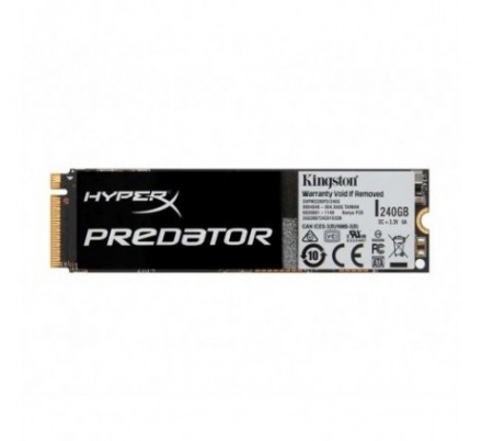 240 GB SSD HYPERX PREDATOR M.2 2280 PCI-E KINGSTON